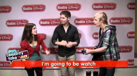 "Ross Lynch and Laura Marano from Disney Channel's ""Austin & Ally"" Singing on Radio Disney"