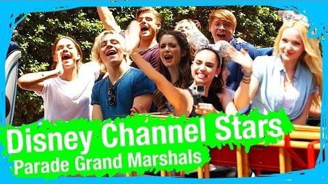 Disney Channel & Disney XD Stars Grand Marshall Parade POV Magic Kingdom WDW Best Day Ever