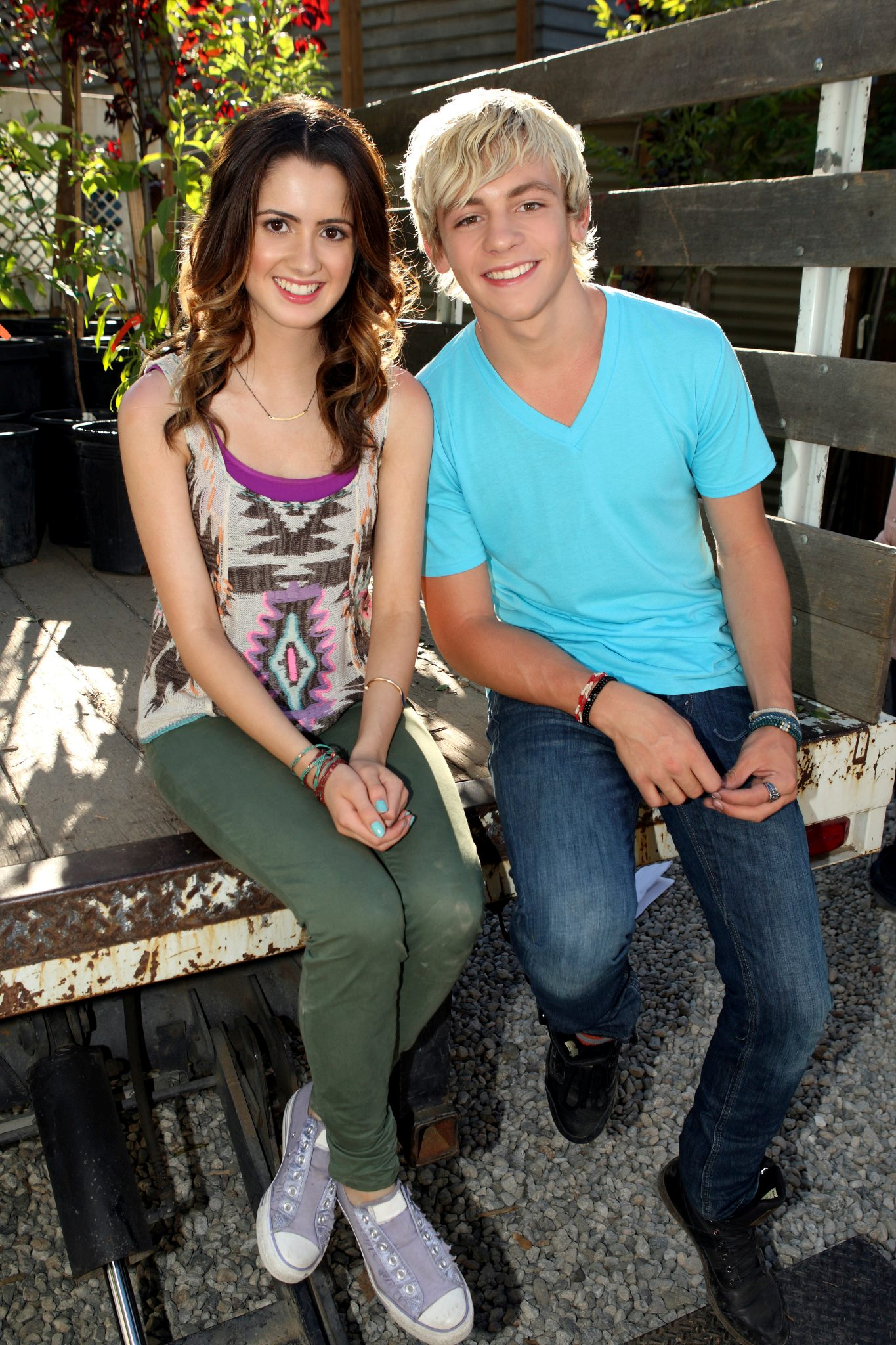Ross lynch talks about dating laura marano age