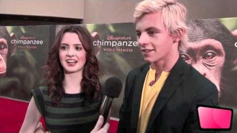 Ross Lynch & Laura Marano Interview At 'Chimpanzee' Premiere HD