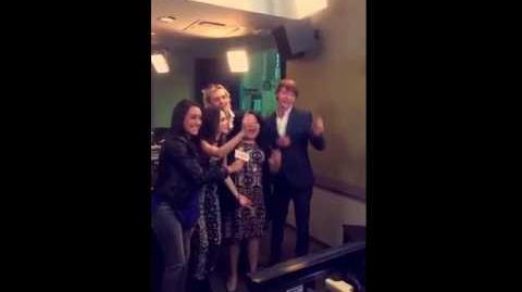 Austin & Ally Cast at Radio Disney (1)