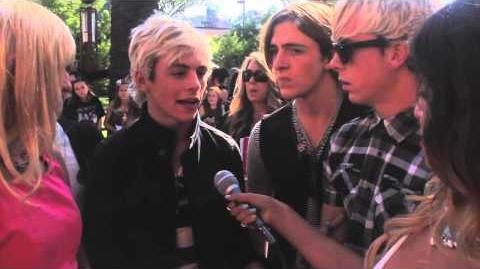 Ross Lynch talks RAURA!