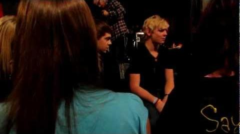 R5 - Does Ross love Laura? 3M Tour 11 20 12