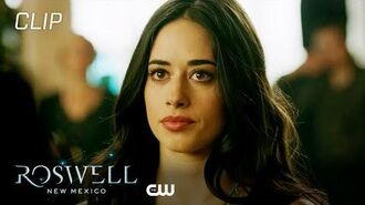 Roswell, New Mexico Season 2 Episode 1 Liz And Isobel Talk At The Funeral Scene The CW