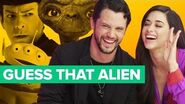 Roswell, New Mexico Stars Play GUESS THAT ALIEN