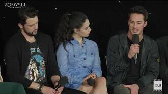 """Roswell, New Mexico (2019) Crashdown Cafe Panel """"Speaking of Nice Guys"""""""