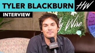 """Roswell- New Mexico"" Tyler Blackburn Admits His Most Embarrassing Moment!! - Hollywire"