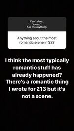 Carina May 9th QandA on IG02 RomanticScene in 213