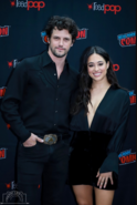 Nathan Dean Parsons and Jeanine Mason at NYCC 2019