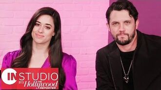 Hollywood Reporter - 'Roswell, New Mexico' Stars Jeanine Mason & Nathan Dean Parsons Talk Reboot Reactions - In Studio