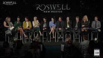 "Roswell, New Mexico (2019) Crashdown Cafe Panel ""Art Imitates Life"""