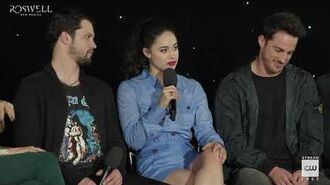"""Roswell, New Mexico (2019) Crashdown Cafe Panel """"Latina Support"""""""
