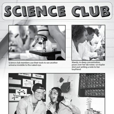 Yearbook page