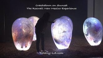 Roswell New Mexico Series Set on Sunset Strip - Crashdown on Sunset