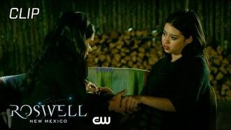 Roswell, New Mexico Season 2 Episode 1 Rosa Wakes Up From A Nightmare Scene The CW