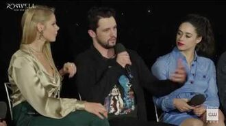 """Roswell, New Mexico (2019) Crashdown Cafe Panel """"Texas Represent"""""""