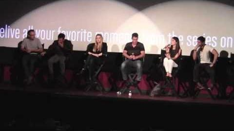 Roswell Reunion panel at ATX Festival