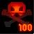 Medal Vanquished 100