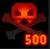 Medal Vanquished 500