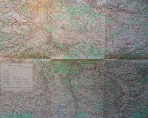 A6 1959 Tracés par Montereau