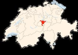 Situation Canton Nidwald