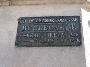 D38 - Plaque Bellegarde