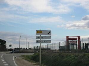 D442 - Panneau Bouillargues