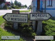 Panneau direction 80D935 - Moreuil
