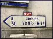 76 Forges-les-Eaux Flèche N321