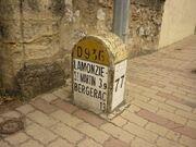 RN136 - Borne Dordogne