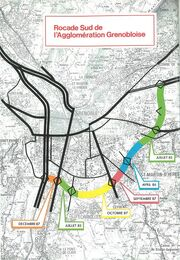Rocade Sud de Grenoble - Travaux d'achèvement