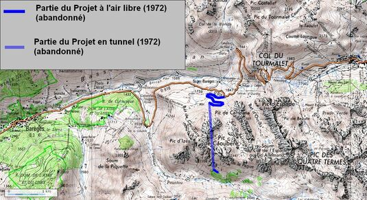 Tunnel du Tourmalet (65 Haute Pyrénées)