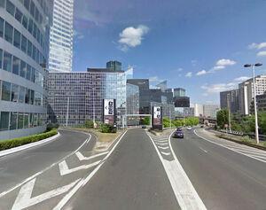 Bd circulaire La Défense carrefour D21 1 - 2011