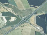 D212 (77) - Ronds points D83 et D84 en construction en 1999
