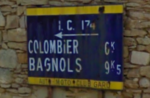 Panneau Ic174 (30) - Mégier