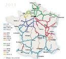 Liste des autoroutes françaises en service