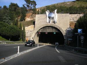 Tunnel de Monaco - Portail Nord