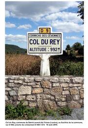 D 983 - Col du Rey