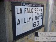 Plaque Michelin 60D063 - Paillart-A
