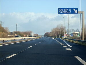A13 Aire Giberville Sud