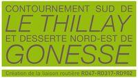 D47 95 Déviation Le-Thillay