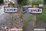 60D055 - Cauvigny