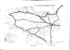 Plan Routier Breton Complet 1970