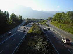 Rocade Sud Grenoble Dir.Rondeau