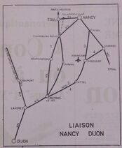 A31 02-1974 Nancy - Dijon schéma