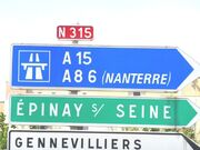 RN315 - Epinay-sur-Seine