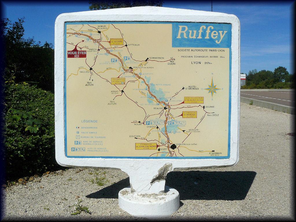 image - 21 courcelles-lès-sémur a6 aire de repos de ruffey