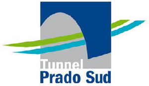 Logo Tunnel Prado Sud