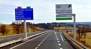 A75 - Contournement Est Saint-Flour