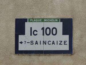 N58 Plaque IC100 MagnyCours